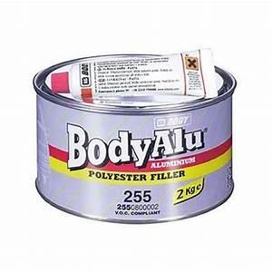 Mastic Pour Métal : hb body 255 mastic alu 2 kg durcisseur mastic auto ~ Edinachiropracticcenter.com Idées de Décoration