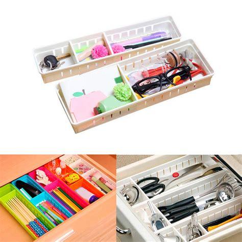 Kitchen Drawer Organizer Adjustable by Adjustable Drawer Organizer Kitchen Board Divider Makeup