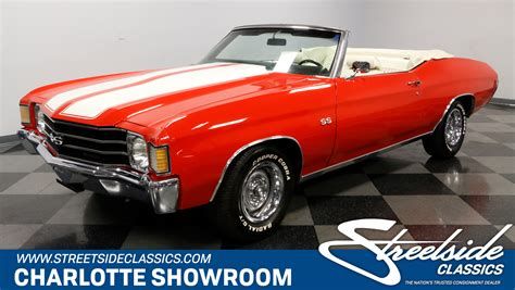 Chevrolet Chevelle Ss For Sale by 1972 Chevrolet Chevelle Ss Convertible For Sale 98215 Mcg