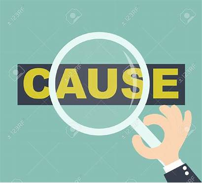 Cause Causes Clipart Word Clip Root Issue
