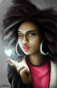 Natural Hair Style Pictures | Black women art, Natural ...