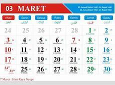 Kalender Jawa Bulan Maret 2019 Kalender Indonesia Tahun 2019