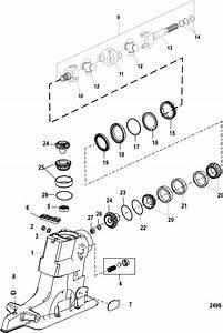 Driveshaft Housing  U0026 Drive Gears For Mercruiser  Alpha One