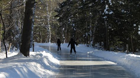 arrowhead park ice skating trail open ctv barrie news