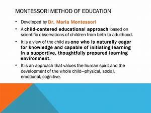 Montessori in SPED