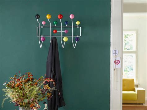 vitra hang it all buy the vitra eames hang it all coat rack at nest co uk