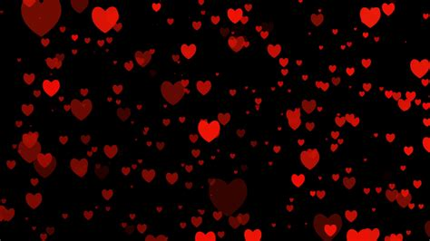 Black Animated Wallpaper - for valentines day for appears on black