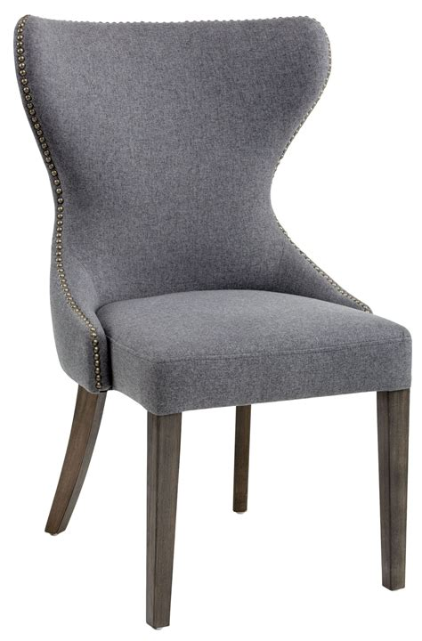 grey fabric dining chair 101151 sunpan