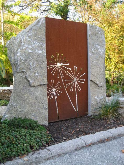 Sichtschutz Japanischer Garten by Paras Sichtschutzw 228 Nde Aus Corten Japanischer Garten