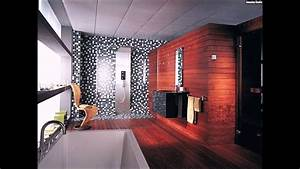 Badezimmer Fliesen Ideen Mosaik : mosaik fliesen badezimmer holz wandverkleidung schwarz ~ Watch28wear.com Haus und Dekorationen