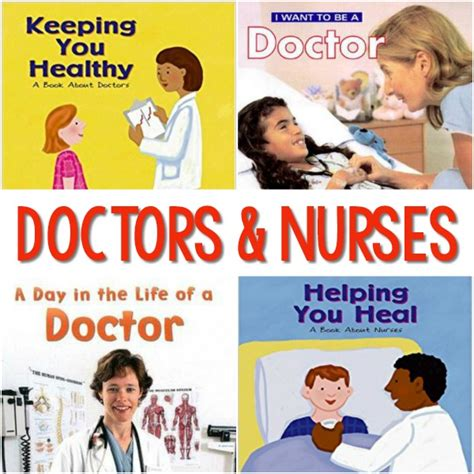 community helper books for preschool pre k pages 953 | Books About Doctors and Nurses for Preschool