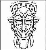 Coloring African Mask Masks Pages Template Gas Superhero Printable Templates Tribal Sheets Makingfriends Africana Draw Zulu Da Arte Para Colorir sketch template