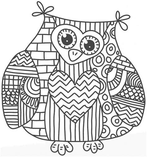 Coloring Sheets Mandala Animaux Coloriage Mandala Hibou Imprimer