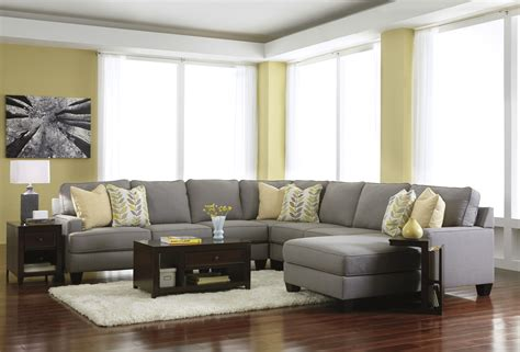 livingroom sectionals gray couches sofa and curtains living rooms brown wood varnish table amazing grey sectional