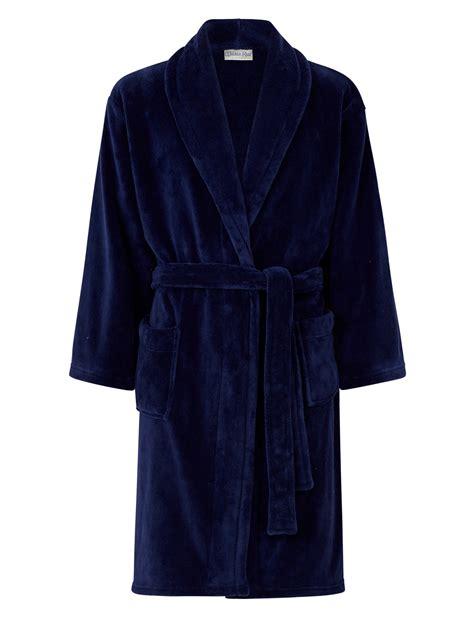 robe de chambre luxe walker peignoir hommes enroulé de luxe robe chambre