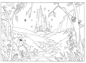 Emerald City Coloring Pages - Eskayalitim