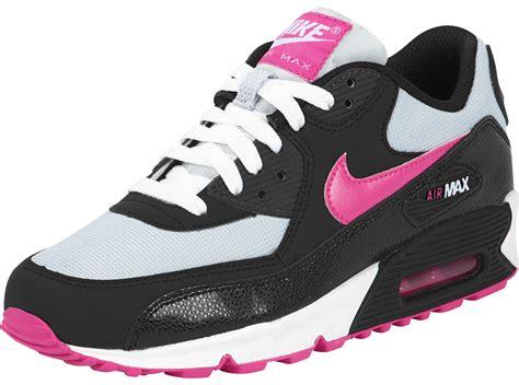 Nike Airmax 9 0 nike air max 90 youth gs schuhe schwarz pink grau