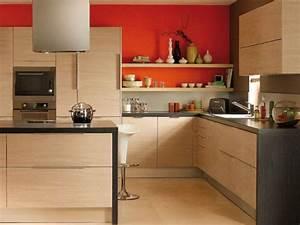 cuisine elista hygena cuisine pinterest With peinture couleur bois clair 0 couleur peinture cuisine 66 idees fantastiques