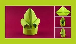 Serviettenfalttechniken Mit Papierservietten : servietten falten anleitung lilie gr n deko pinterest ~ Watch28wear.com Haus und Dekorationen