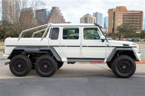 Hennessey brings new meaning to chevy's trail boss. 2014 Mercedes G63 6X6 Pickup Sells for $1.2M at Barrett-Jackson