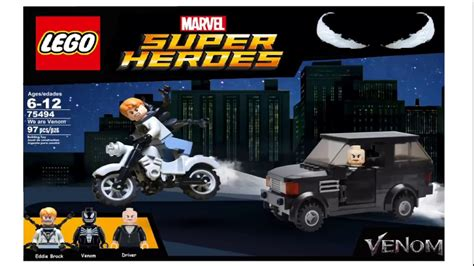 lego marvel venom we are venom 75494 set photoshop