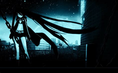 Rock Anime Wallpaper - black rock shooter wallpapers wallpaper cave