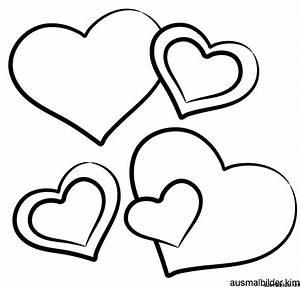 Herzen Zum Ausmalen : valentinstag malvorlagen kostenlos zum ausdrucken ~ Buech-reservation.com Haus und Dekorationen
