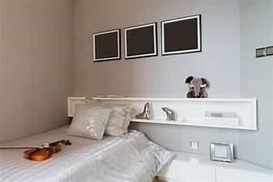 Regal über Bett : wandregal ber bett bestseller shop f r m bel und einrichtungen ~ Markanthonyermac.com Haus und Dekorationen