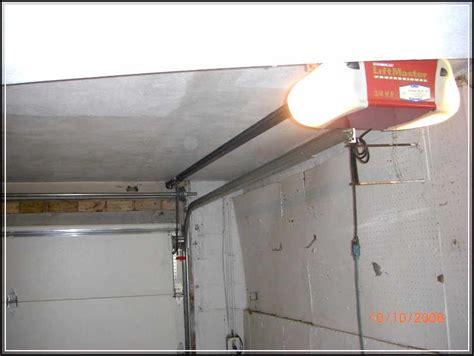 installing  garage door opener     smooth