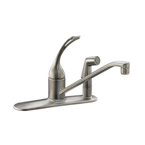 standard kitchen faucet kohler coralais single handle standard kitchen faucet with
