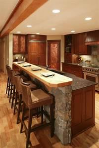 Bar Cuisine Ouverte : comment meubler votre cuisine semi ouverte ~ Melissatoandfro.com Idées de Décoration