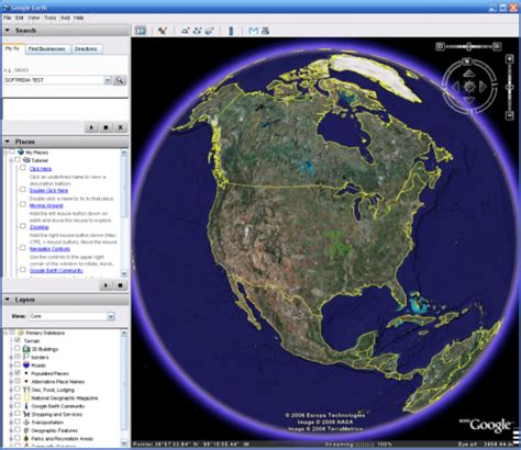 google earth real time imagery