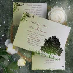 themed wedding invitations cheap rustic green tree country theme wedding invitations ewi040 as low as 0 94