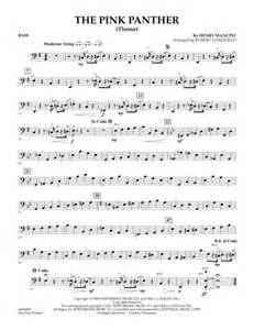 Download The Pink Panther (Theme) - Bass Sheet Music By