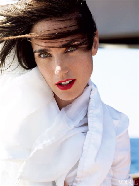 jennifer connelly vogue jennifer connelly tells vogue which are her favorite