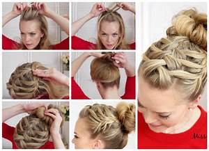 How To Double Waterfall Triple French Braid Hair Style ...