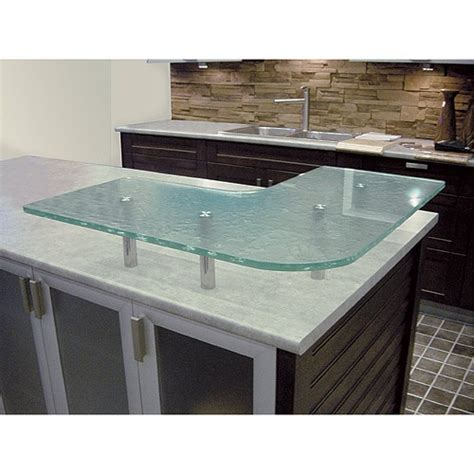 rona comptoir de cuisine trendy tempered glass countertop for the kitchen available