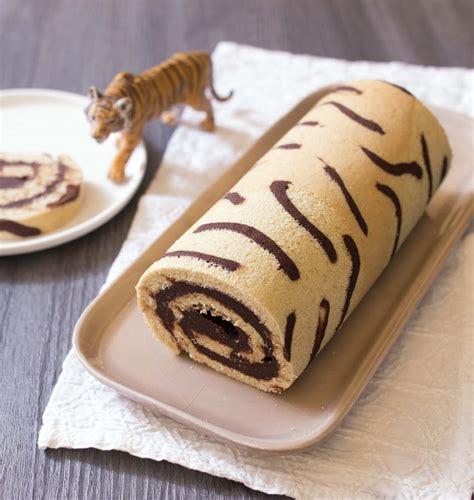 jeux de cuisine de de gateau gâteau roulé imprimé tigre les meilleures recettes de