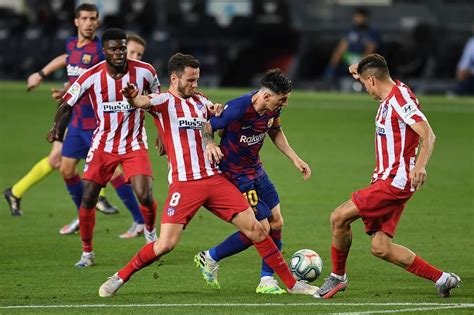 Kết quả Atletico Madrid vs Barca hôm nay xem La Liga 2020