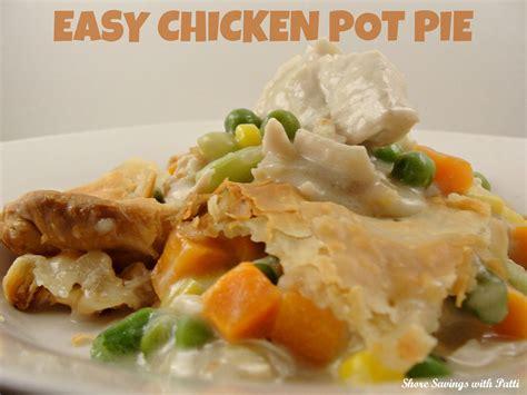 chicken pot pie recipe easy chicken pot pie recipe shore savings with patti