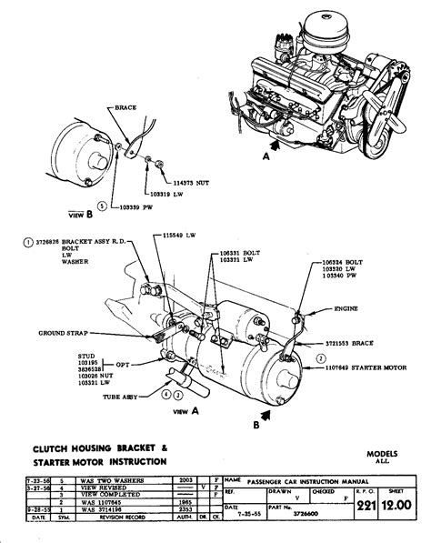Sbc Starter Wiring Diagram by Chevrolet Starter Diagram Wiring Diagram Database