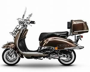 25 Roller Kaufen : retro roller chrom scooter mofa 25 49 50 125 ccm ~ Kayakingforconservation.com Haus und Dekorationen