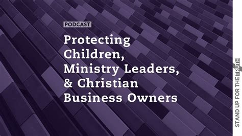 protecting children ministry leaders christian