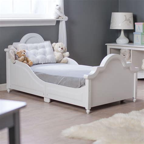 kidkraft raleigh toddler bed white  toddler beds