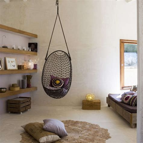 indoor hanging chair for bedroom best ideas about indoor hanging chairs with hammock chair