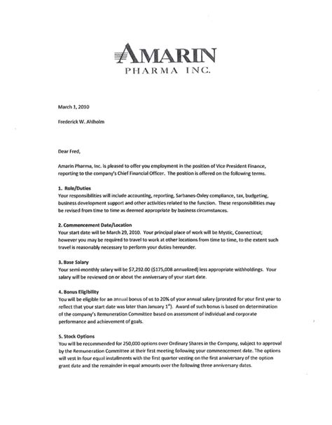 AMARIN CORP PLCUK - FORM 10-K - EX-10.46 - LETTER AGREEMENT DATED MARCH 1, 2010 WITH FREDERICK