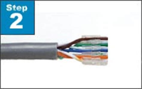 Cat 6 Wiring Diagram With Load Bar by Assemble Category 6 Wire Cat6 Solid Stranded