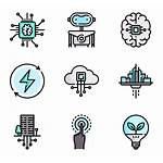 Future Technology Clip Icon Packs Transparent Background