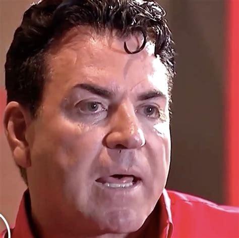 papa johns  viral  sweating video  eating