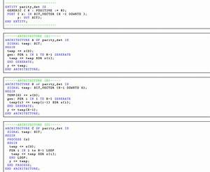 Vhdl Coding Question
